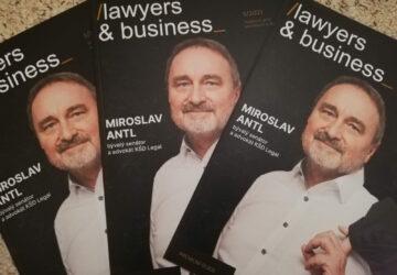 Antl, Dubovský i Burda. To je květnové číslo Lawyers &Business