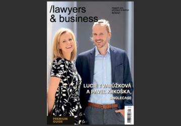 Vyšlo zářijové Lawyers & Business!