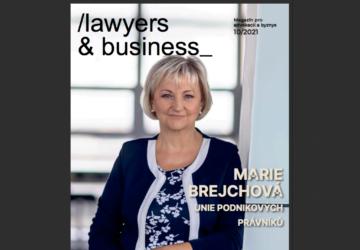 Vyšlo říjnové Lawyers & Business!